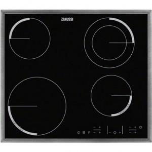 Zanussi ZEN6641XBA induction   4 zones   6600W Surface Remis à neuf