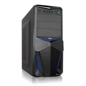 Pax USB 3.0 NOX Case Blue Edition PC Remis à neuf