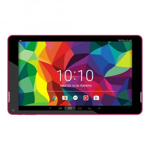 Woxter N-100 Rose Quad Core   1 Go   8 Go   HD   10.1 Tablet