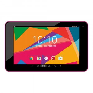 N Woxter 70 Rose Quad Core   1 Go   8 Go   HD   7 Tablet