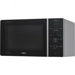 MCP 347 SL Whirlpool micro-ondes grill 800W 25 Litres Noir   Argent