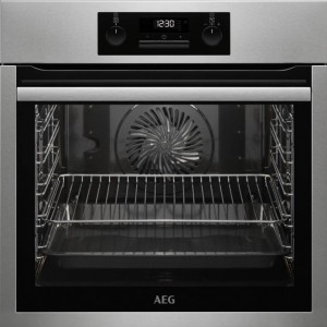 AEG BPS331120M 71L multifonction Pyrolyse A+ Inox Four Remis à neuf