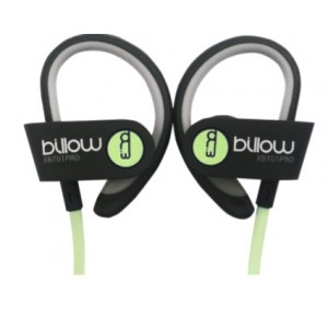 Billow XBT01PROG Sport Bluetooth Casque Vert