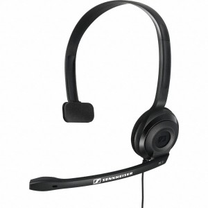 Sennheiser PC 2 Chat Headset Mono Noir Remis à neuf