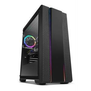 NOX NXHUMMERFSN Black Mid-Tower Remis à neuf
