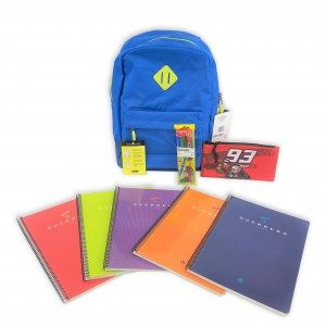 Blue Backpack + Pencilcase...