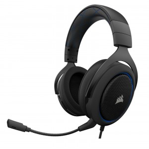Corsair HS50 Headset Gaming Blue Reconditionné