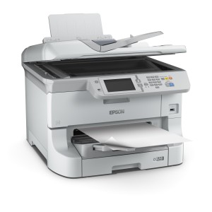 Epson WorkForce Pro WF-8510DWF Multifunction Injection Scanner WiFi White Open Box