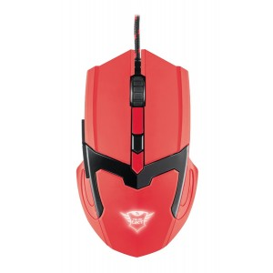 Trust GXT101SR Mouse Gaming Spectra Red