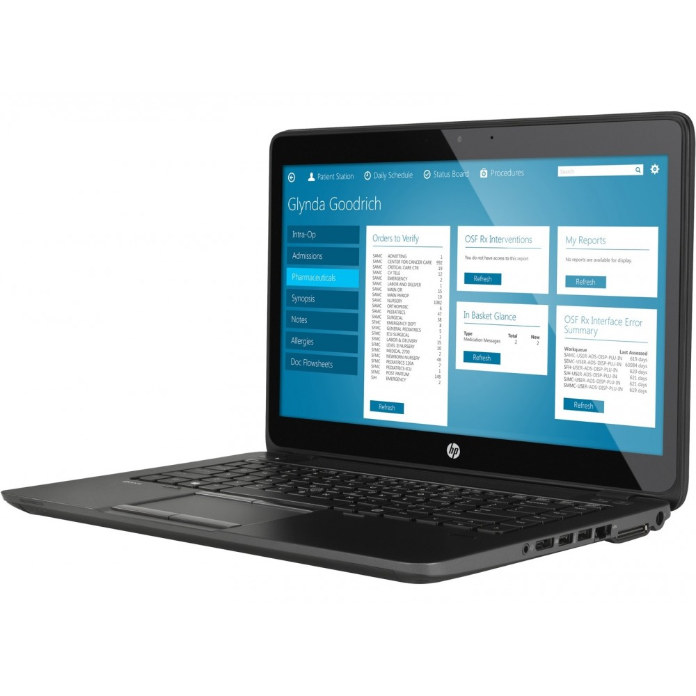 HP Zbook 14 G2 i7-5500U 8 Go 256SSD AMD FirePro 14 MANQUE TRACKPOINT Reconditionné