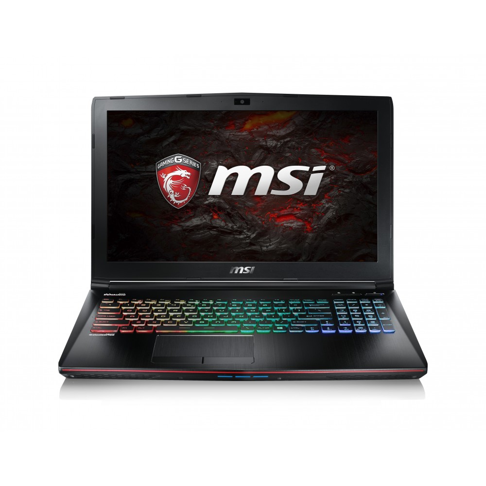 MSI GE62VR 7RF i7-7700HQ 16 Go 256SSD 1To GTX1060 15.6 Reconditionné