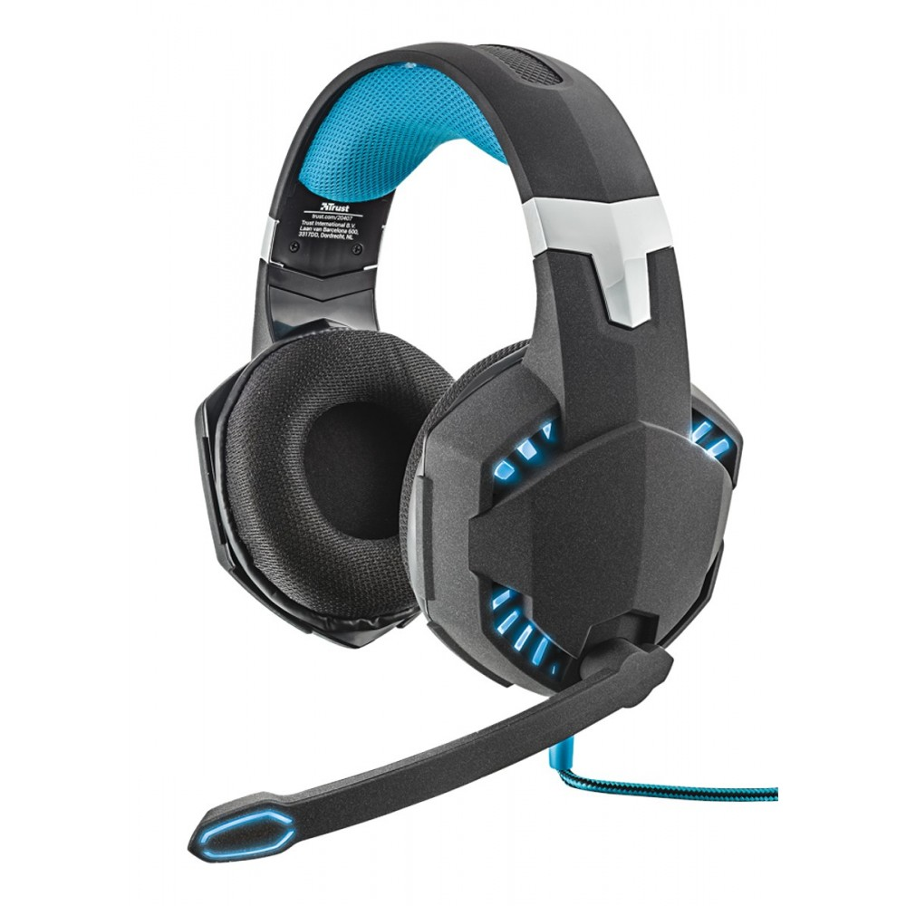 Trust GXT 363 Hawk 7.1 Bass Vibration Gaming Remis à neuf