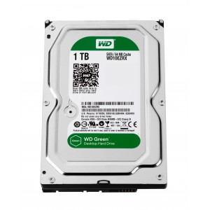 WD Drive Caviar Green dur 1To SATA3 64MB Reconditionné