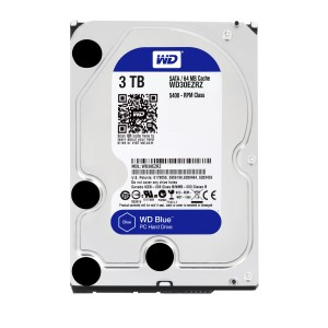 Western Digital 3To   6GBseg   64 Mo Disque dur Remis à neuf