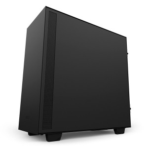 NZXT H500 USB 3.1 PC Verre Trempé Black Box Remis à neuf