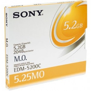 Disque Sony EDM-5200 MOD 5.25in 5,2 Go